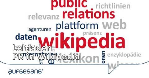 Wikipedia-Leitfaden