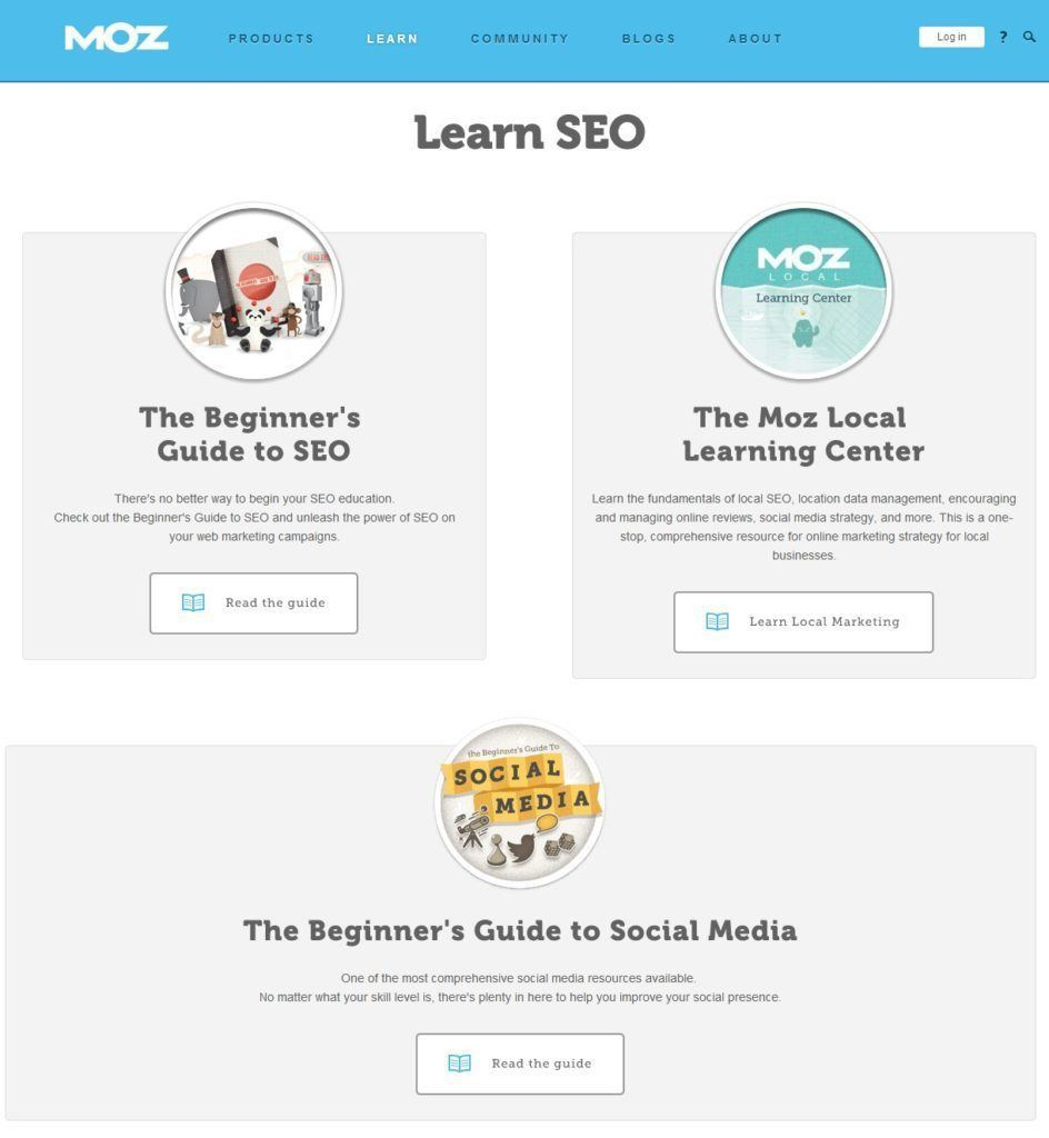 Learn SEO and Social Media   Moz
