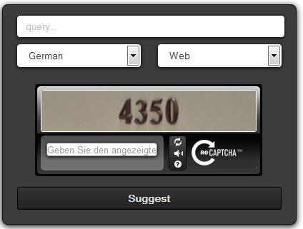 Interface uebersuggest.com