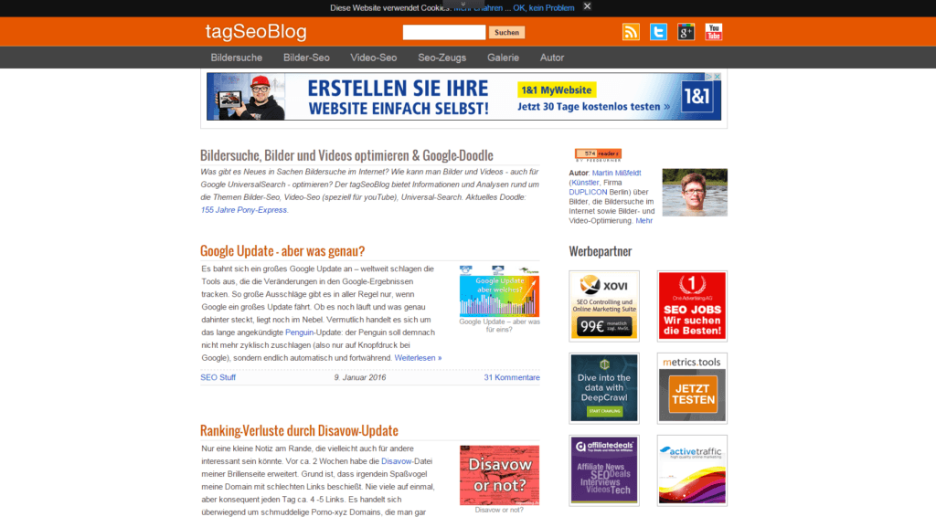 Screenshot tagSEOBlog